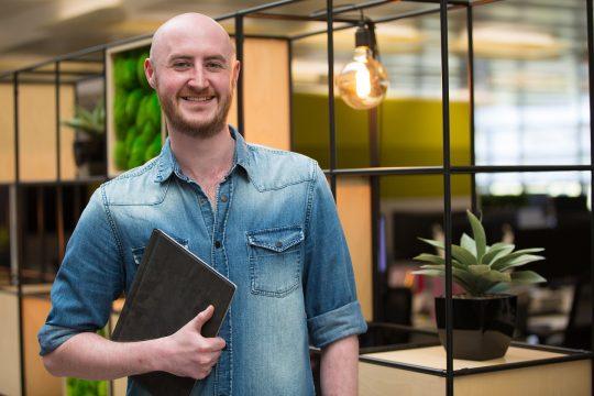 Portrait Of Male Hmrc Employee