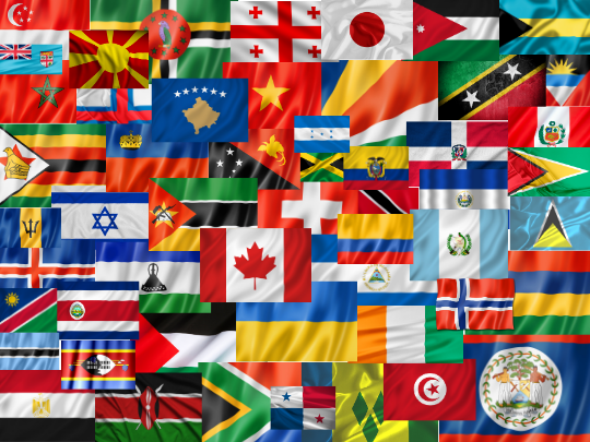 DIT Trade Deals By Flag