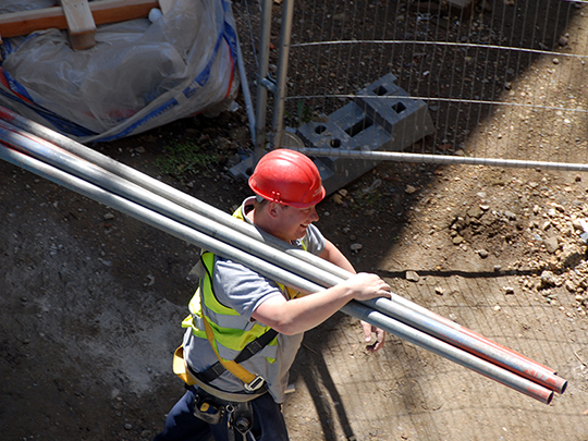 Builder With Pipes