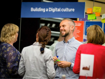 Building A Digital Culture Stand
