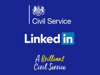 Civil Service And LinkedIn Promotional Graphic