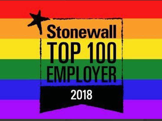 Dfe Stonewall Top 100 Employer