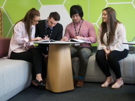 Four Team Members At Hm Land Registry