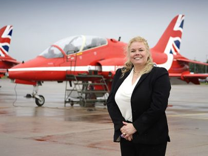 A Portrait of Helen Training Aircraft Portfolio Manager
