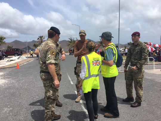 Foreign and Commonwealth Office Rapid Deployment in Team St Maarten