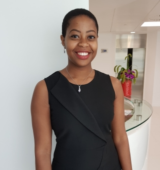 Portrait of Rochelle Thompson at MOJ