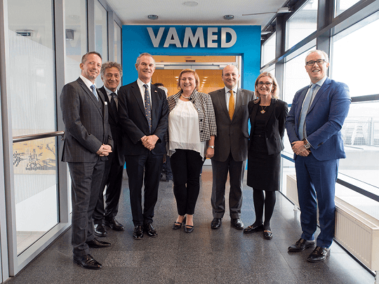 Team Members At Vamed