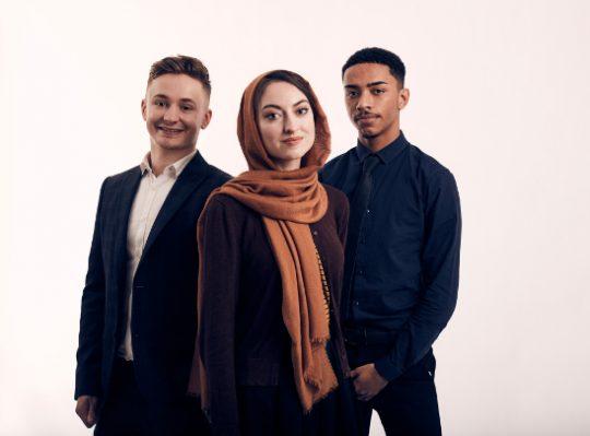 Three Trainee Apprentices