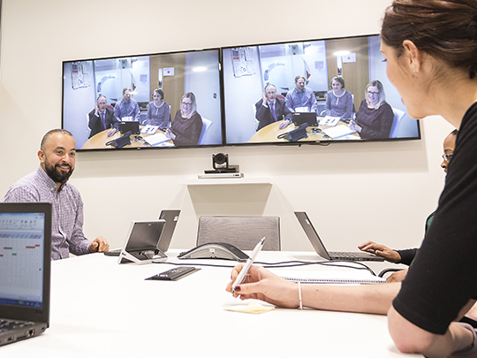 Video Conference Department For Health And Social Care