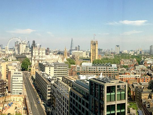 View Of Central London