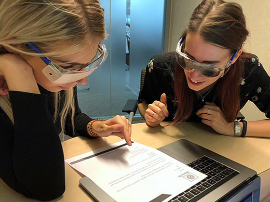 Visual Impairment Simulation Goggles